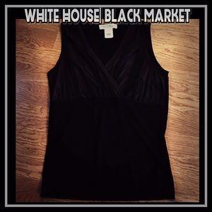 🖤White House Black Market Sleeveless Top 🖤 CUTE!